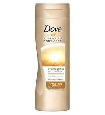 Dove Nourishing Body Care Visible Glow Self-Tan Lotion Fair-Medium 250Ml