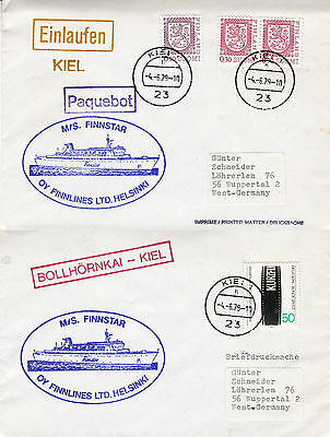 Finnish Cruise Ship Ms Finnstar 2 Ships Cached Covers