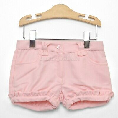 Short Rosa con Rouches Very Chic Per Bambina Dr.Kids 340