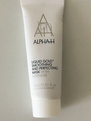 ALPHA H LIQUID GOLD * smoothing and perfecting mask * Exfoliator 15 ml * NEU OVP