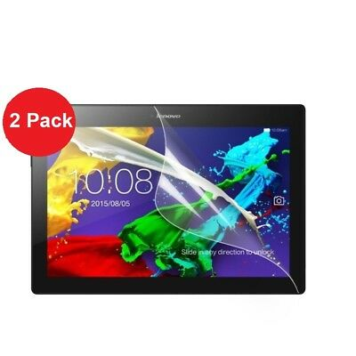 2 x Clear Flim Screen Protector for Lenovo Tab E10 10.1 Inch 16GB Tablet