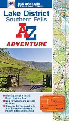 Lake District (Southern Fells by Geographers' A-Z Map Company New Paperback Book