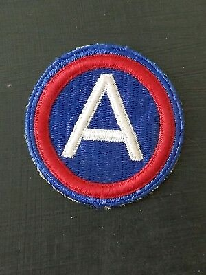 WWII US 3rd Army  Cut Edge Shoulder patch