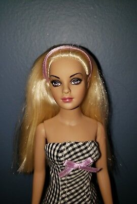 """Checker Groove blonde Tiny Kitty Collier 10"""" doll Tonner NIB REDUCED SALE"""