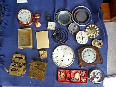 Multiple Clock parts for enthusiast--being sold as a job lot