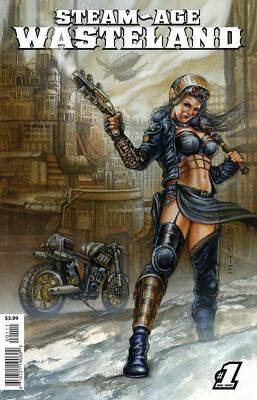 Steam-Age Wasteland #1 (1 Shot) - New - 1st Print - Bagged & Boarded
