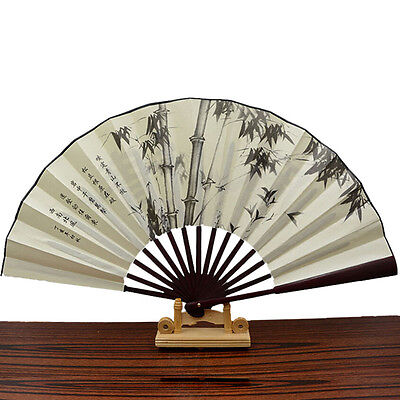 1x Chinese Japanese Silk Folding Hand Held Pocket Fan Party Dance New HL