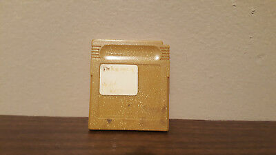 Pokemon: Gold Version (Nintendo Game Boy Color, 2000) CART ONLY NO STICKERS