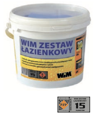TANKING SYSTEM KIT for sealing wet areas and floors