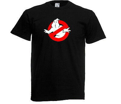 Glow In The Dark Ghostbusters Logo Kids T-Shirt, 3 -13 yrs also in adult sizes .