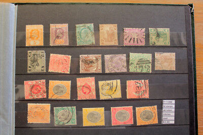 Lot Stamps Old British Colonies Used (F111099)
