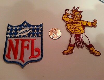 Washington Redskins & NFL LOGO vintage embroidered iron on patch Patches lot
