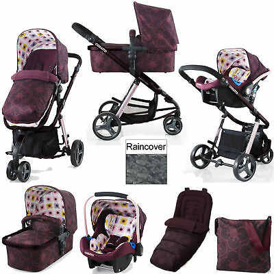 Cosatto Giggle 2 Posy Travel System Pushchair Car Seat From Birth