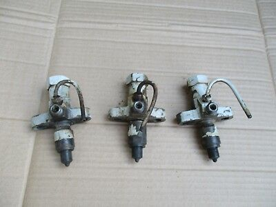 Massey Ferguson T20 TE20 Perkins P3 Conversion Tractor injectors.Set of Three