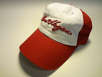 New with Tags, Red and White Ben Hogan Throwback Golf Cap, Adjustable Hat