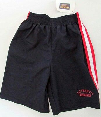 Osh Kosh Kids Little Boys Navy Blue Athletic Shorts  Size 5 Mint Condition