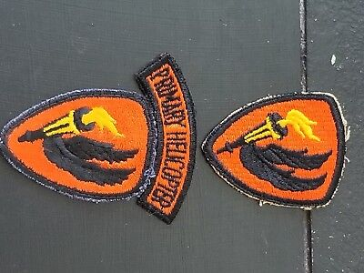 WWII Korea War Army Helicopter Flight Aviation Tab Patch Set x3