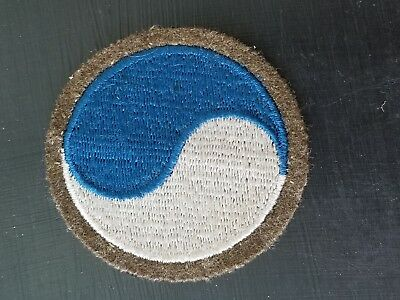 Pre WWII Inter War 1920s US Army 29th Infantry Division Wool Patch