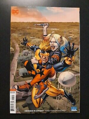 HEROES IN CRISIS #1 1:50 J. G. Jones Variant DC Comic Book Tom King DEATH OF KEY