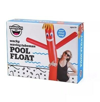 Big Mouth Waving Wacky Tube Man 6ft+ - New Pool Float inflatable