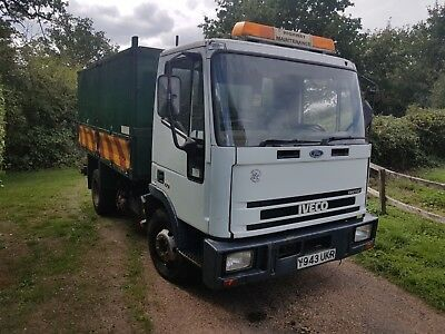 Ford Iveco 75E15 Tipper No Mot Tree Surgery Surgeon Chipper Stump Grinder