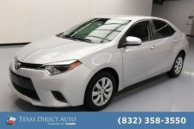 Toyota Corolla LE 4dr Sedan Texas Direct Auto 2015 LE 4dr Sedan Used 1.8L I4 16V Automatic FWD Sedan