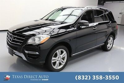 Mercedes-Benz M-Class ML 350 Texas Direct Auto 2015 ML 350 Used 3.5L V6 24V Automatic RWD SUV Premium