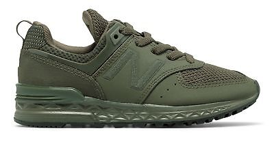 New Balance Kid's 574 Sport Little Kids Unisex Shoes Green