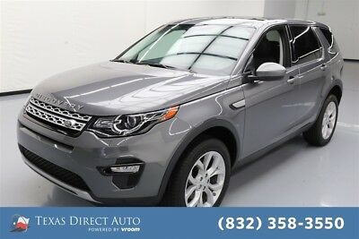 Land Rover Discovery Sport HSE Texas Direct Auto 2015 HSE Used Turbo 2L I4 16V Automatic 4WD SUV Moonroof