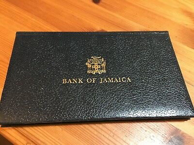 """BANK OF JAMAICA BANKNOTE SERIES """"1976"""" SET IN ALBUM 1,2,5 and 10$"""