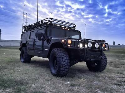 1997 Hummer H1  AMG H1 TURBO-DIESEL 4-PASSENGER ENCLOSED WAGON - CUSTOM STEREO & LIGHTS