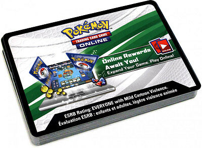New Pokemon Online TCG Email Codes TCGO XY EVOLUTIONS Booster Code Cards