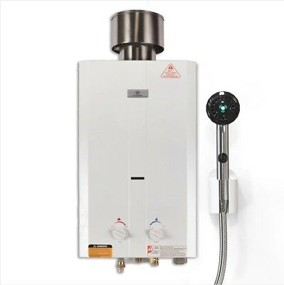 Eccotemp L10 Portable Outdoor Tankless Water Heater with Shower set