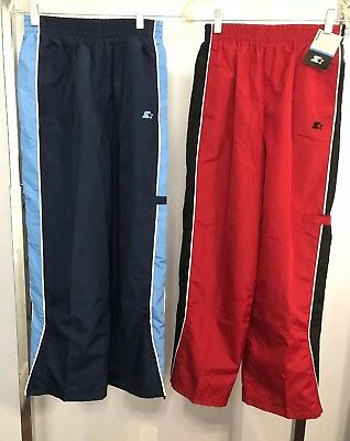 2 Pair Boys Youth Starter Sweat Pants Size 12-14 NEW!
