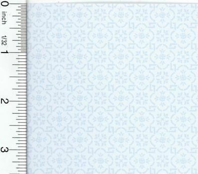Dollhouse Wallpaper Victorian Albert - Blue