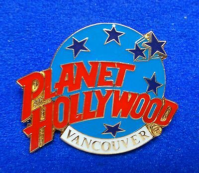 Vancouver BC Canada Planet Hollywood Blue Planet with Stars Logo PH Lapel Pin