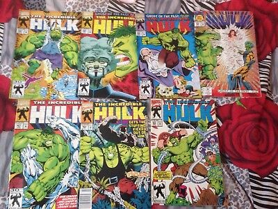 INCREDIBLE HULK  *7 issues* #397,398,399,400,401,402,403