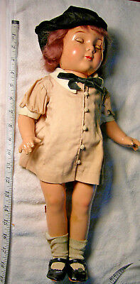 """Vintage 19"""" Jane Withers Madame Alexander Composition Doll Repair Parts"""
