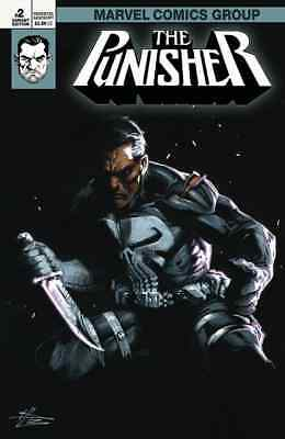 Punisher 2 V11 2018 Gabrielle Dell Otto Igc Variant Numbered Coa Nm
