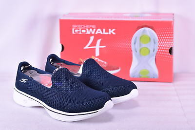 Women's Skechers Go Walk 4- Propel Navy/White
