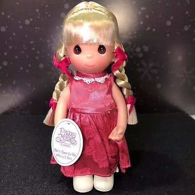 """Precious Moments Doll - Can't Bear To Be Without You - #3336 Rare Love Friend 9"""""""