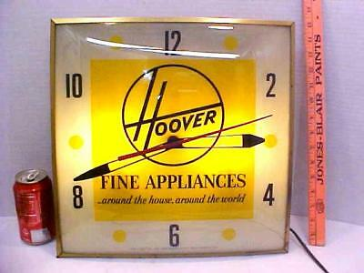 1961 PAM HOOVER Lighted clock (for parts please read description)