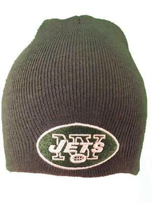 d5ddbed294c NEW YORK JETS Adult Mens Unisex Adult Size OSFA Black Adjustable NFL ...