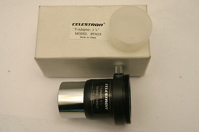 "Celestron T-Adapter 1 1/4"" Model 93625"