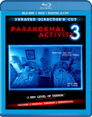 Paranormal Activity 3 [Rated/Unrated] [2 Discs] [Includes Digit Blu-ray Region A