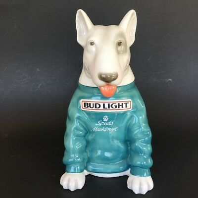 Spuds MacKenzie Stein, 10 1/8 in, Anheuser-Busch, early Serial No. 162, With COA