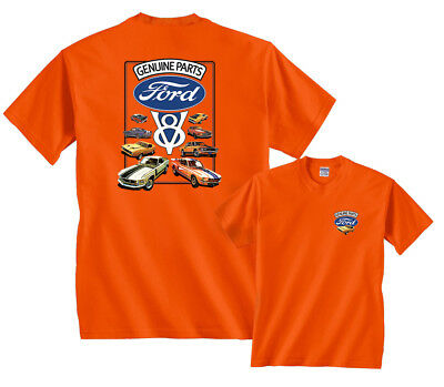 Ford Genuine Parts V8 Mustangs T-Shirt
