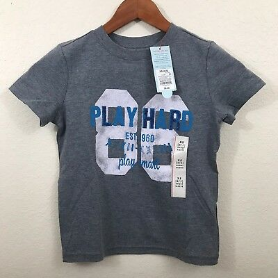 NWT Boys Kids Youth XS XSmall 4/5 Cat and Jack Casual Short Sleeve Shirt