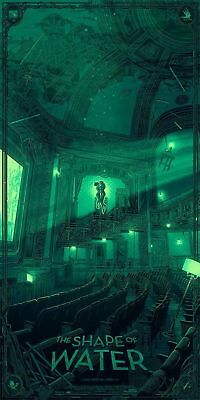 MONDO The Shape of Water by Daniel Danger Signed Numbered Variant 2018 SDCC #270