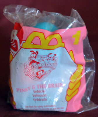 McDonalds - Sealed Bag - Pinky & the Brain Animaniacs HAPPY MEAL
